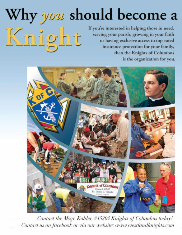 Recruitment Flyer kofc