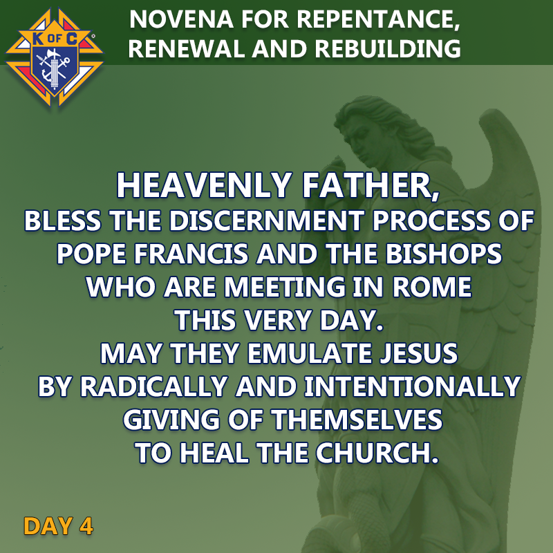 Novena For Repentance, Renewal, And Rebuilding
